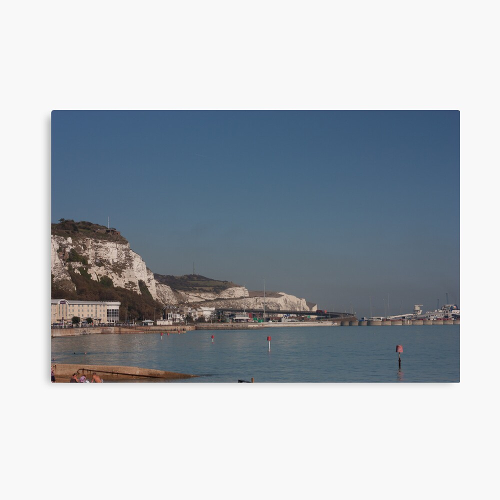 The White Cliffs of Dover Canvas Print