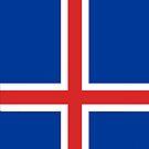 Iceland Flag by pjwuebker