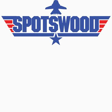 Custom Top Gun Style - Spotswood by CallsignShirts