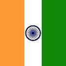 India Flag by pjwuebker