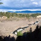 White River Valley Panorama by Stacey Lynn Payne