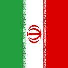 Iran Flag by pjwuebker
