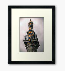 HDR Grey's Monument Framed Print