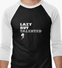 Lazy But Talented - Rainbow Dash Men's Baseball ¾ T-Shirt