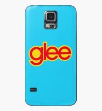 Logo Glee - Rouge et jaune Coque et skin Samsung Galaxy