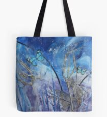 Hide & Seek Wax Butterfly Art Tote Bag