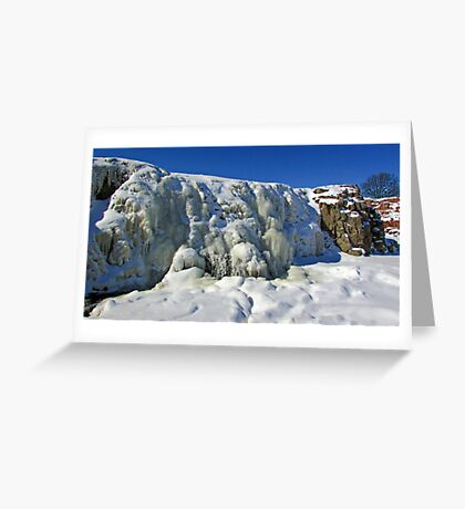 Frosty Waters Greeting Card