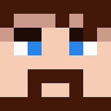 BlueXephos Minecraft skin - Yogscast Lewis face by youtubedesign