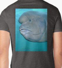 Double Header Wrasse Mens V-Neck T-Shirt