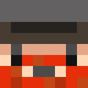 Honeydew Minecraft skin - Yogscast Simon face by youtubedesign