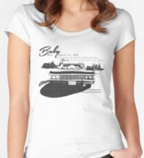 Baby Supernatural 67 Impala Women's Fitted Scoop T-Shirt