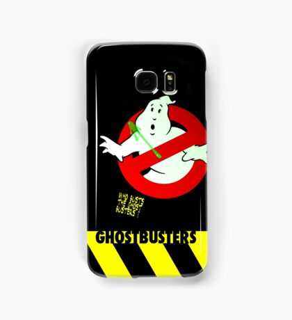 Who Busts The Ghost Busters? (black) v3 Samsung Galaxy Case/Skin