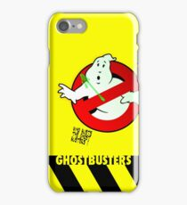 Who Busts The Ghost Busters? (yellow) v3 iPhone Case/Skin