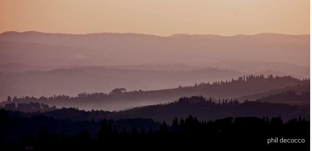 Bella Toscana by phil decocco