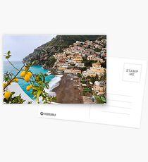 Positano Spring Scenic Postcards