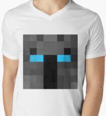 popularMMos Minecraft skin Men's V-Neck T-Shirt