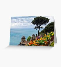 Vista from Villa Rufulo Greeting Card