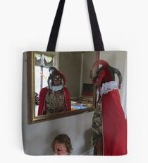 The Fool in the Mirror Tote Bag