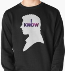 Star Wars Han 'I Know' White Silhouette Couple Tee  Pullover