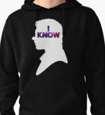 Star Wars Han 'I Know' White Silhouette Couple Tee  Pullover Hoodie