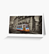 Carris Tram 574 Lisbon Greeting Card
