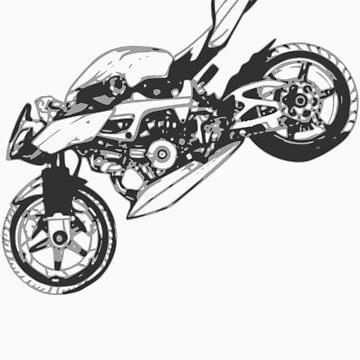 motor bike by lucapacky