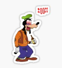 Booze Goofy Sticker