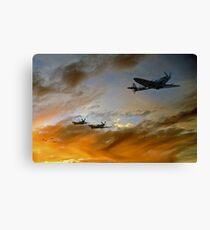 Squadron Scramble Canvas Print