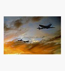 Squadron Scramble Photographic Print