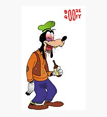 Booze Goofy Photographic Print