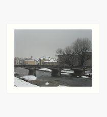 the Long Parma - italy - Europe -VETRINA RB EXPLORE APRILE 2013  Art Print