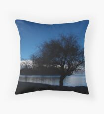 Remarkables Tree Throw Pillow