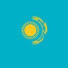 Kazakhstan Flag by pjwuebker