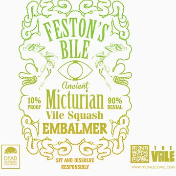 The Vale - Feston's Bile Label by Kuzimu