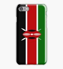 Kenya Flag iPhone Case/Skin