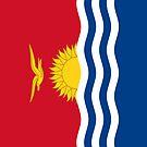 Kiribati Flag by pjwuebker