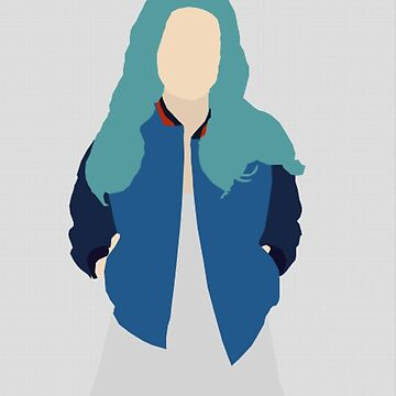 Minimalist Halsey with Textured Background by dreamydesigns