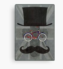 Bicycle Head Canvas Print