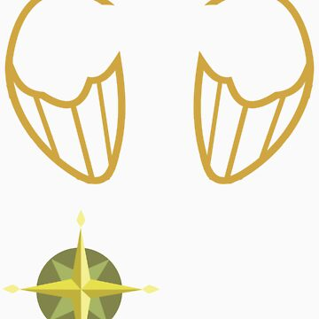 Daring Do Wings by kidomaga