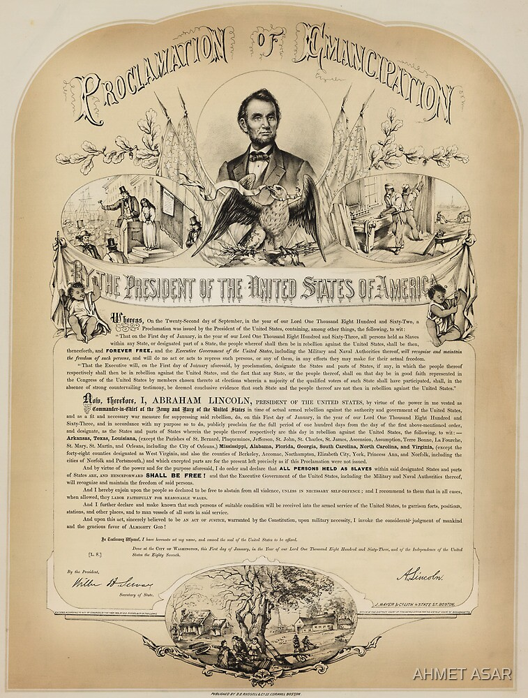 B. B. Russell & Co. copy of the Emancipation Proclamation by MotionAge Media