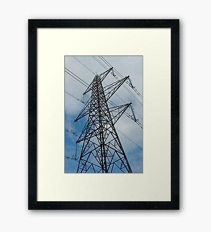 ElectricCity Framed Print