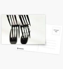 Fork It Postcards