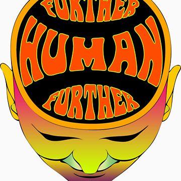 FurTher Human T-Shirt by mindofpeace
