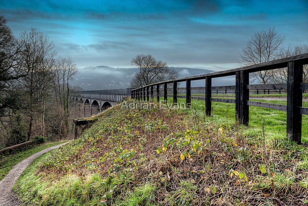 Welsh Aqueduct by Adrian Evans