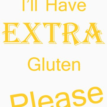 Extra Gluten - Yellow by veganese