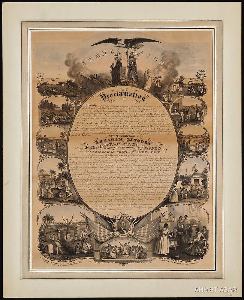 Lipman Emancipation proclamation with narrative pictorial by MotionAge Media