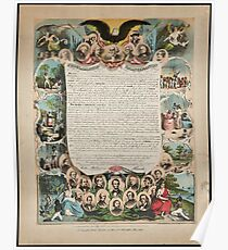 Smith Rosenthal Proclamation emancipation Poster