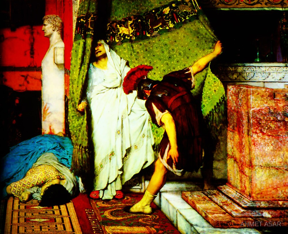a roman emperor  by Sir Lawrence Alma-Tadema by MotionAge Media