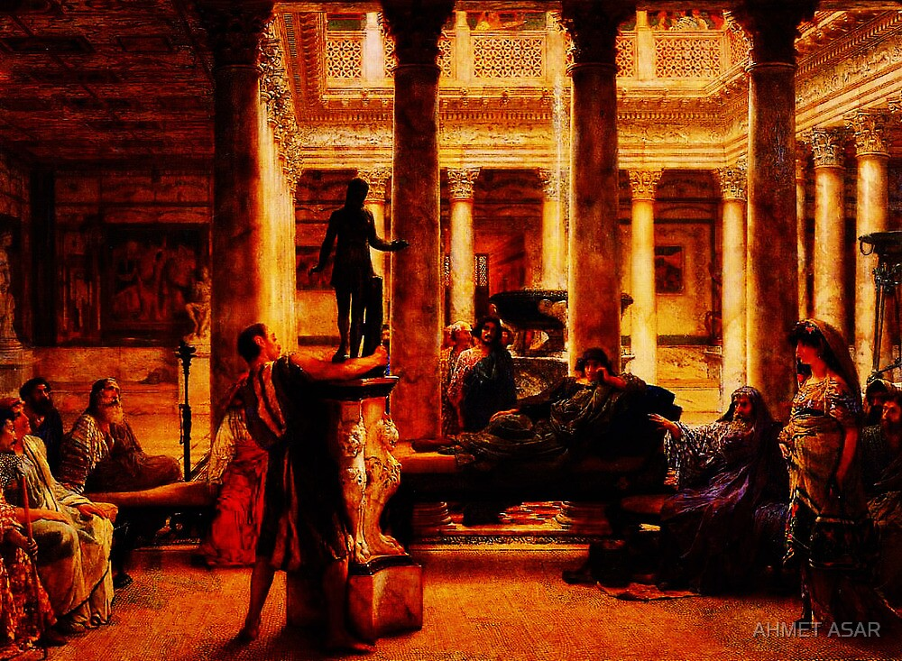 A Roman Art Lover (1870) by Sir Lawrence Alma-Tadema by MotionAge Media