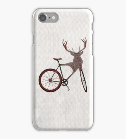 Stag Bike iPhone Case/Skin